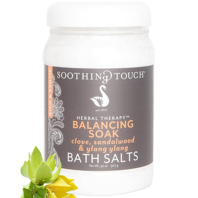 Bath Salts - Balancing Soak, 32 oz, Soothing Touch