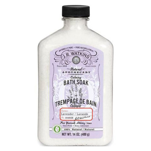 Bath Soak, Calming Lavender, 14 oz, J.R. Watkins