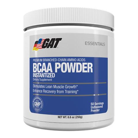 BCAA Powder, 50 Servings, GAT Sport