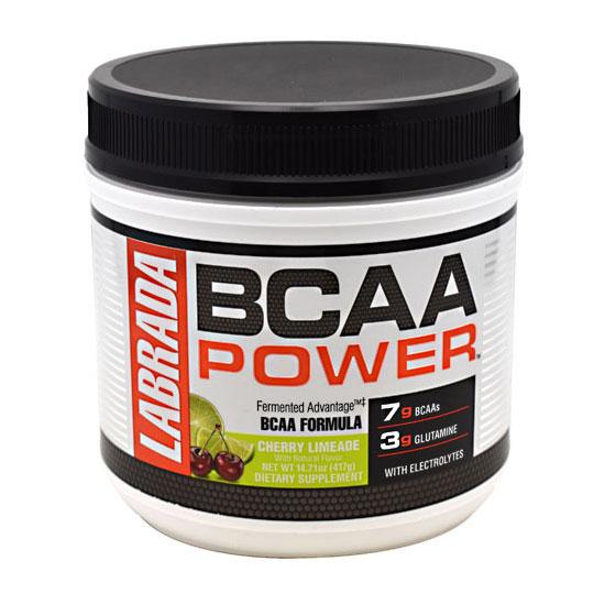 BCAA Power, Fermented BCAA Powder, 417 g (30 Servings), Labrada Nutrition