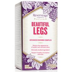 Beautiful Legs Advanced Diosmin Complex, 30 Veggie Capsules, ReserveAge Organics