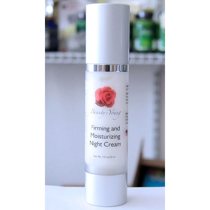 Beauty + Young Firming and Moisturizing Night Cream, 2 oz (50 ml)