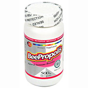 Bee Propolis 500 mg, 100 Capsules, All Nature