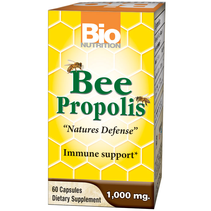 Bee Propolis, 60 Capsules, Bio Nutrition Inc.