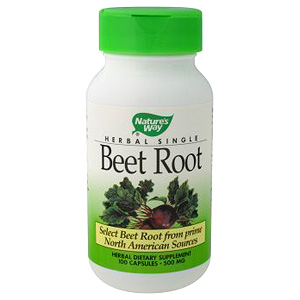 Beet Root European 500mg 100 caps from Natures Way