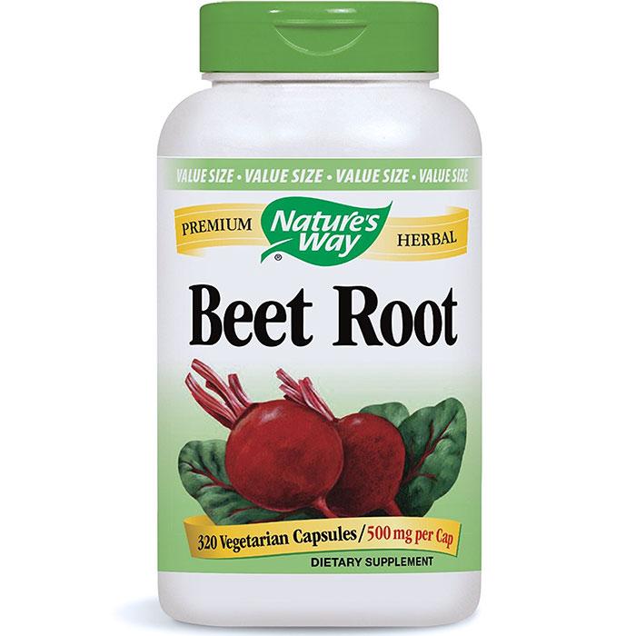 Beet Root 500 mg, 320 Vegetarian Capsules, Natures Way