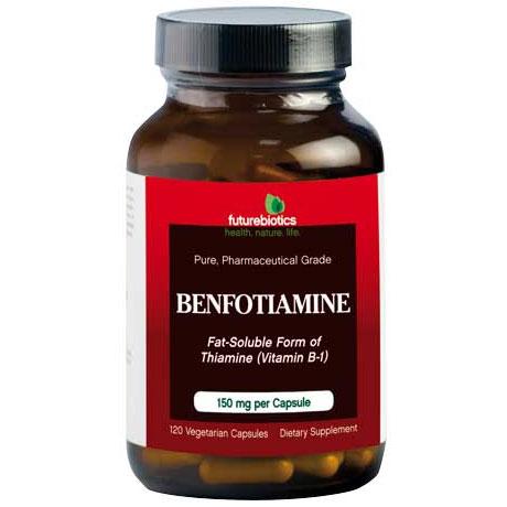 Benfotiamine, 120 Vegetarian Capsules, FutureBiotics