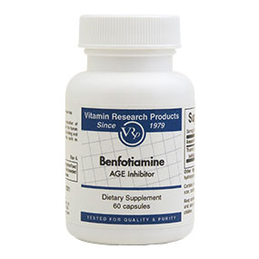 Benfotiamine, 150 mg, 60 Capsules, Vitamin Research Products - CLICK HERE TO LEARN MORE