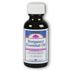 Bergamot Essential Oil, 1 oz, Heritage Products