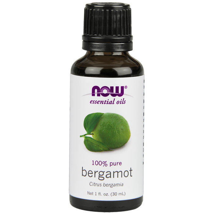 Bergamot Oil, Essential Oil 1 oz, NOW Foods