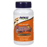 BerryDophilus Extra Strength (10 Billion, 10 Probiotic Strains), 50 Chewable Tablets, NOW Foods