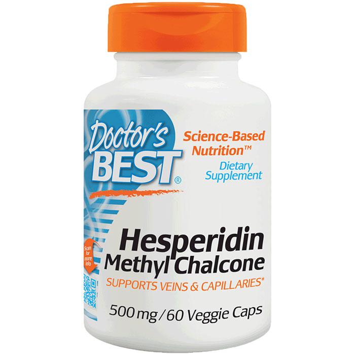 Hesperidin Methyl Chalcone 500 mg, 60 Vegetarian Capsules, Doctors Best