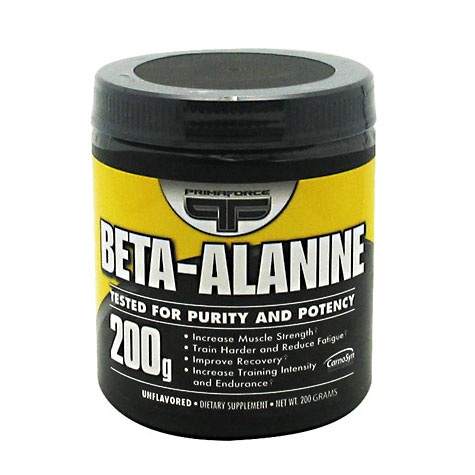 Beta-Alanine Powder, 200 g, PrimaForce