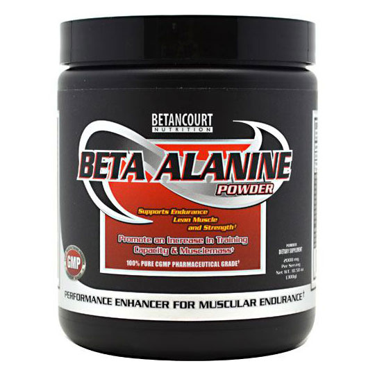 Beta-Alanine Powder, 300 g, Betancourt Nutrition