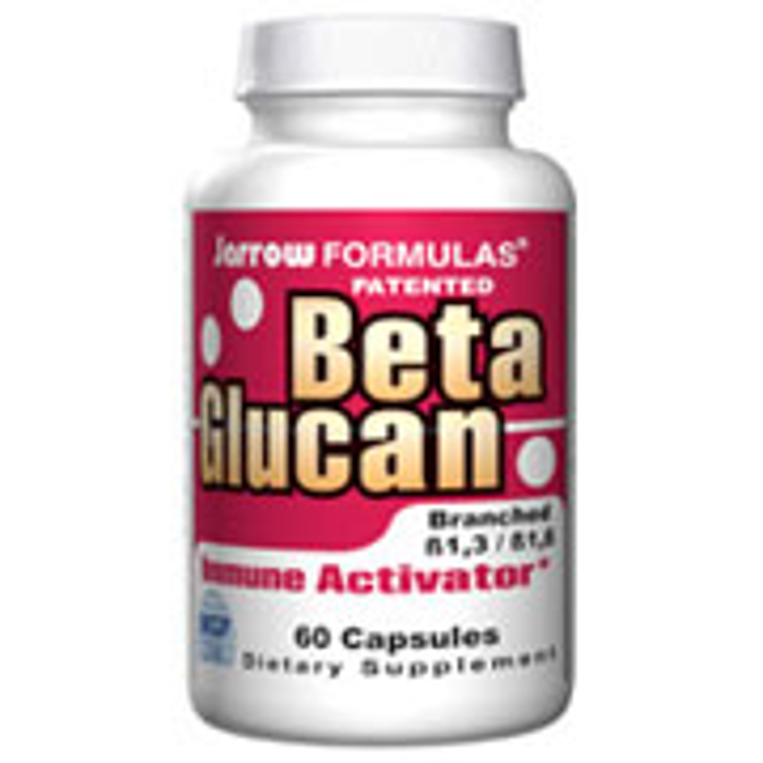 Beta Glucan 250mg, 60 Capsules, Jarrow Formulas