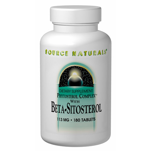 Beta Sitosterol 113mg (formerly Phytosterol Complex) 180 tabs from Source Naturals