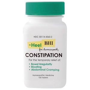 BHI Constipation Formula, 100 Tablets, MediNatura