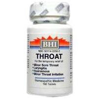 BHI Throat Formula 100 tabs, Heel/BHI