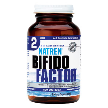 Bifido Factor, Dairy Powder, 2.5 oz, Natren