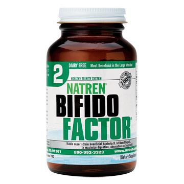 Bifido Factor, Dairy Free Powder, 3 oz, Natren
