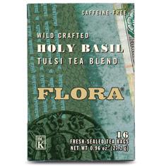 Holy Basil Tea, 16 Tea Bags, Flora Health