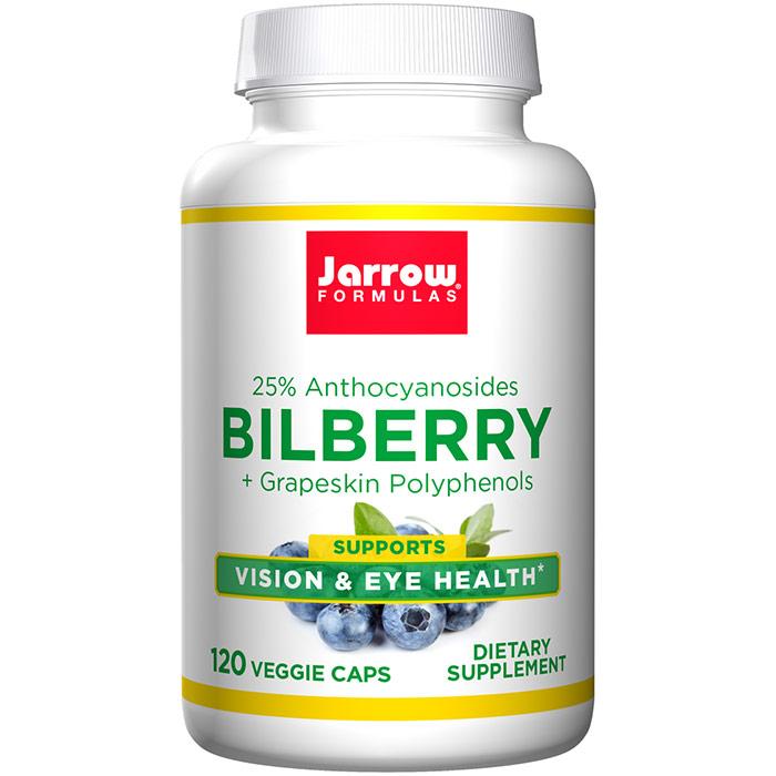 Bilberry Plus Grapeskin Polyphenols, 120 caps, Jarrow Formulas