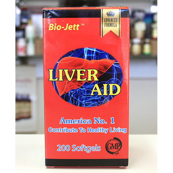 Bio-Jett Liver Aid, Advanced Formula, 200 Softgels