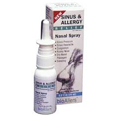 bioAllers Allergy Sinus Nasal Spray .8 oz