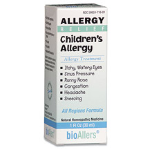 bioAllers Children's Allergy Relief 1 oz (Baby Kids Care - Children Pain Relief)