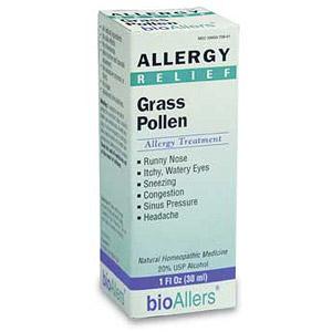 bioAllers Grass Pollen Allergy Relief 1 fl oz