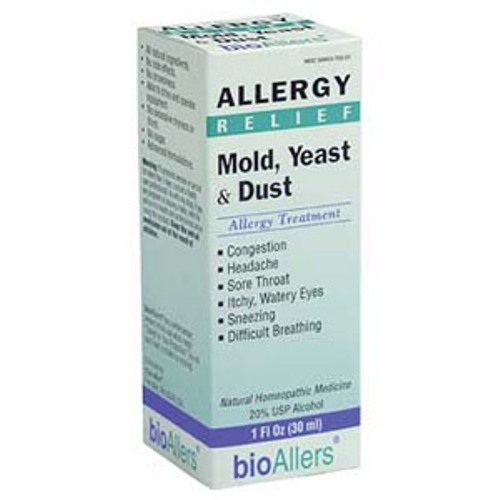 bioAllers Mold/Yeast/Dust Allergy Relief 1 fl oz