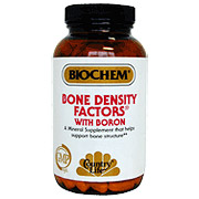 Biochem Bone Density Factors Formula IX 200 Tablets, Country Life