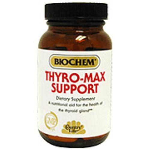 Biochem Thyro-Max Support Formula VIII 60 Tablets, Country Life