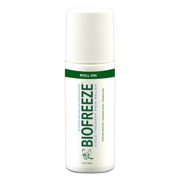 Biofreeze Cold Therapy Pain Relief Roll-On, 3 oz
