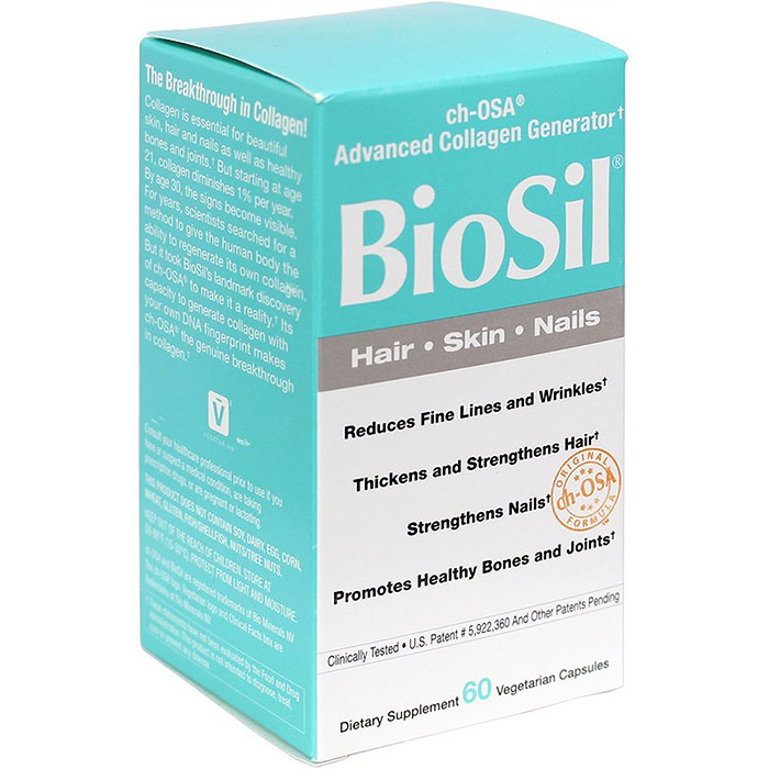 BioSil ch-OSA Advanced Collagen Generator, 60 Vegetarian Capsules