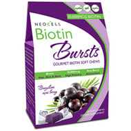 Biotin Bursts Soft Chews, Acai Berry, 30 Chews, NeoCell