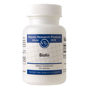 Biotin Caps, 10 mg, 60 Capsules, Vitamin Research Products - CLICK HERE TO LEARN MORE