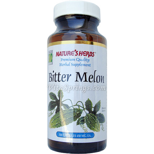 Bitter Melon 100 caps from Natures Herbs