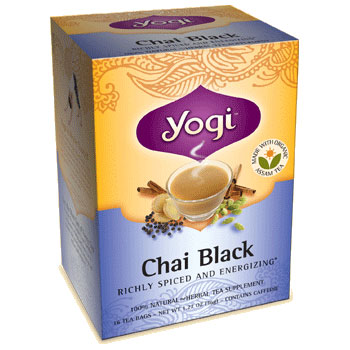 Black Chai Tea 16 tea bags from Yogi Tea