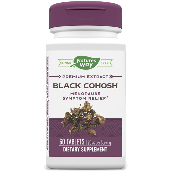 Black Cohosh, 60 Tablets, Enzymatic Therapy