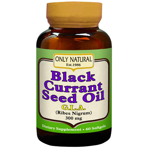 Black Currant Seed Oil, 60 Softgels, Only Natural Inc.