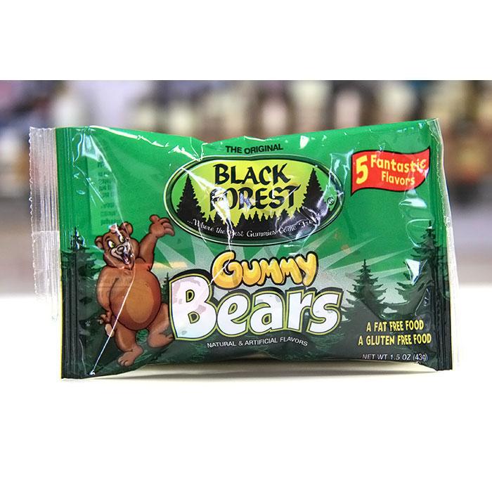 Black Forest Gummy Bears, 1.5 oz x 24 Pouches, Ferrara Candy Company