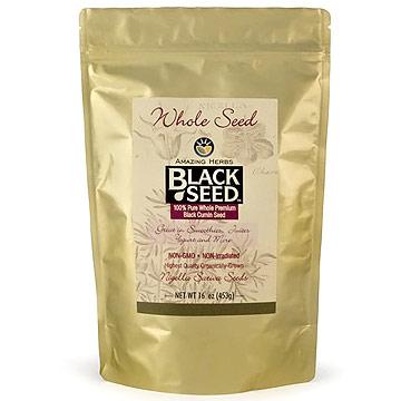 Black Seed Whole Seed, 16 oz, Amazing Herbs