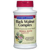 Black Walnut Complex 90 vegicaps from Natures Answer