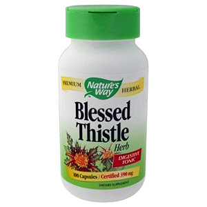 Blessed Thistle 100 caps from Natures Way