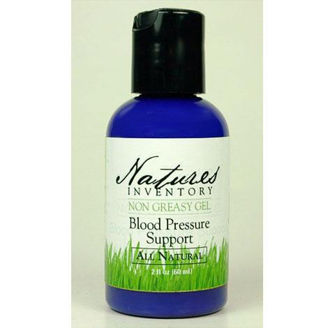 Blood Pressure Support Gel, 2 oz, Natures Inventory