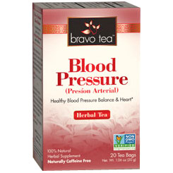 Blood Pressure Herbal Tea, 20 Tea Bags, Bravo Tea