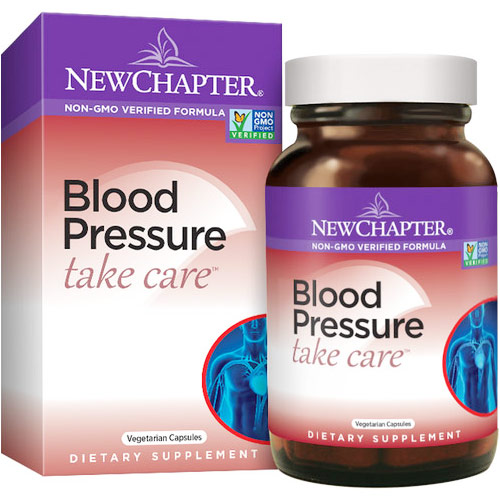 Blood Pressure Take Care, 30 Vegetarian Capsules, New Chapter