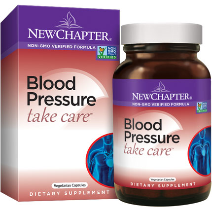Blood Pressure Take Care, Value Size, 60 Vegetarian Capsules, New Chapter