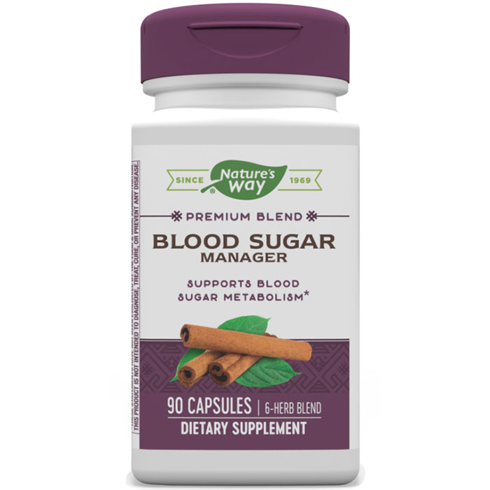Blood Sugar with Gymnema 90 caps from Nature's Way